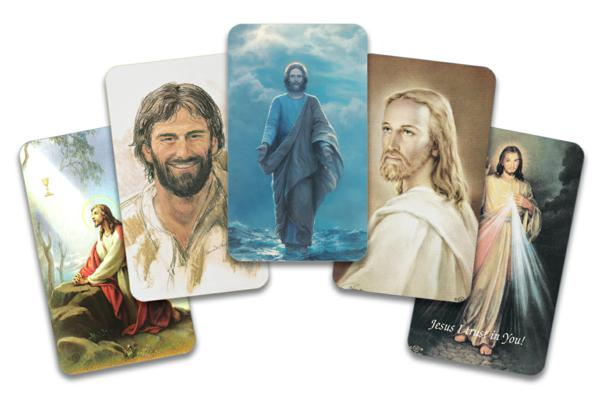 Christ prayer cards